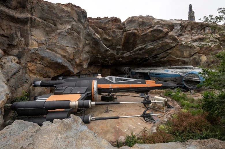 nave x-wing starfighter de Poe Dameron