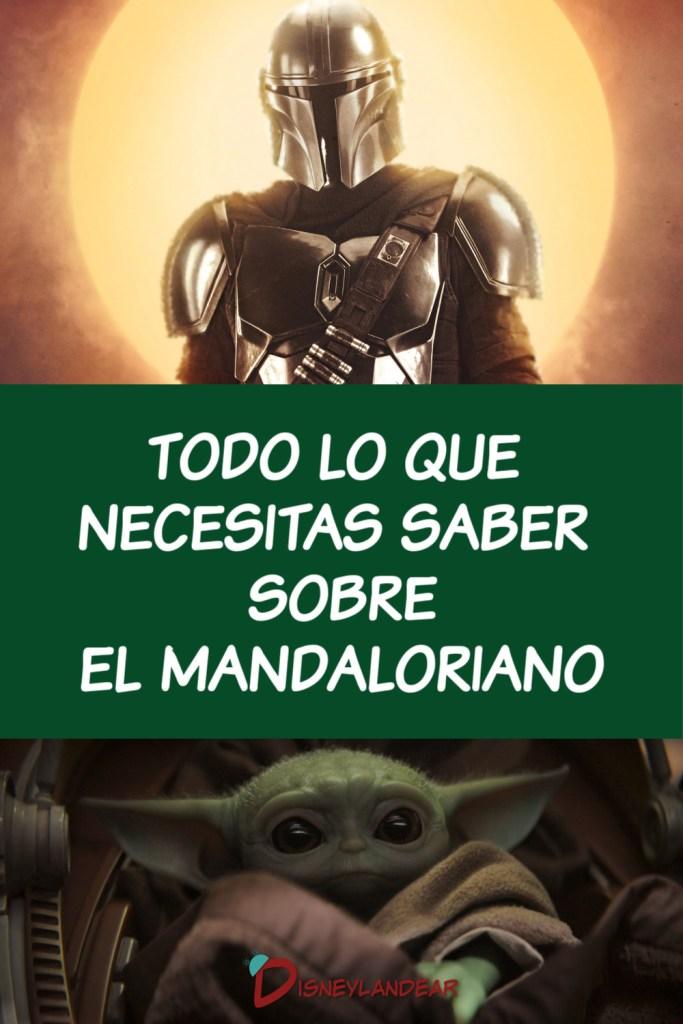 Gráfico con El Mandaloriano y Baby Yoda