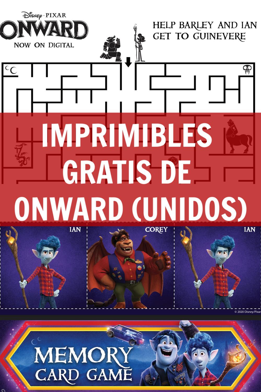 imagen que dice imprimibles gratis de onward (unidos)