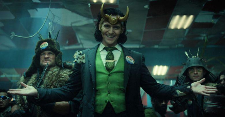 Tom Hiddleston en su interpretación como Loki en la película de su mismo nombre