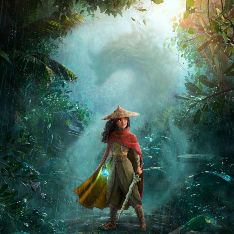 Poster de Raya la película de Disney