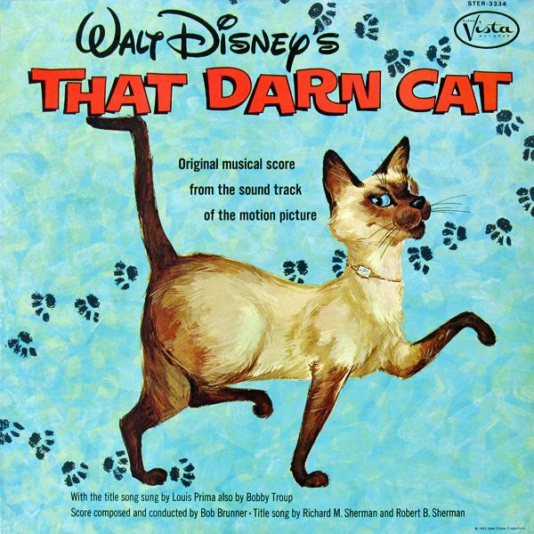 Disney Cat Darn Walt