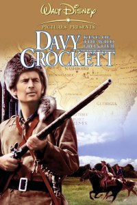 "Poster for the movie ""Davy Crockett, King of the Wild Frontier"""