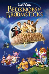 "Poster for the movie ""Bedknobs and Broomsticks"""