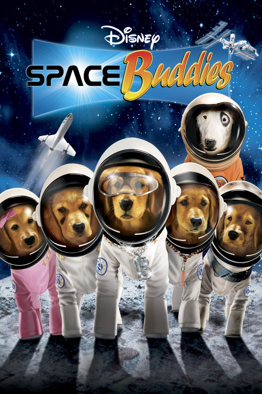 "Poster for the movie ""Space Buddies"""
