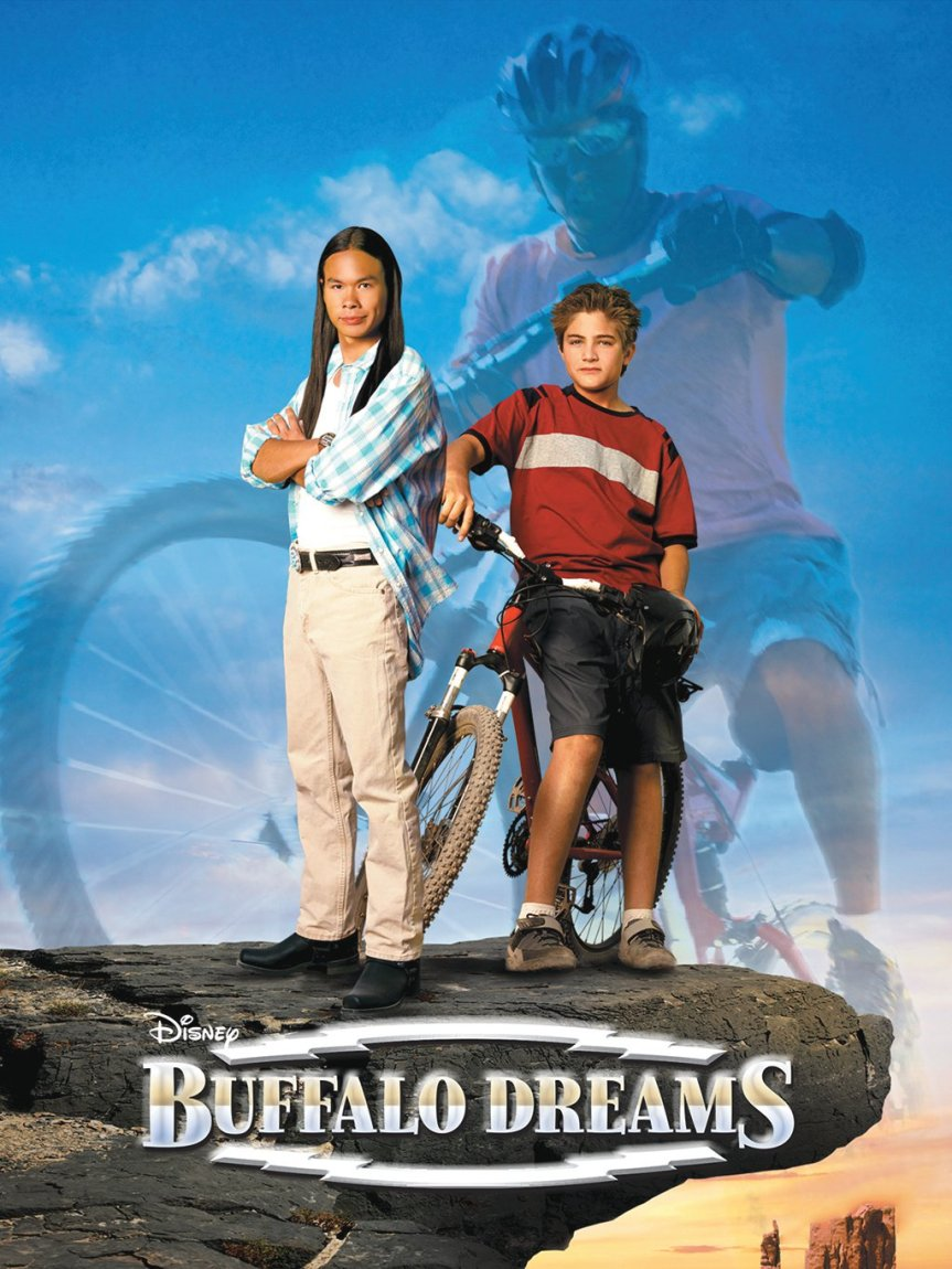 "Poster for the movie ""Buffalo Dreams"""