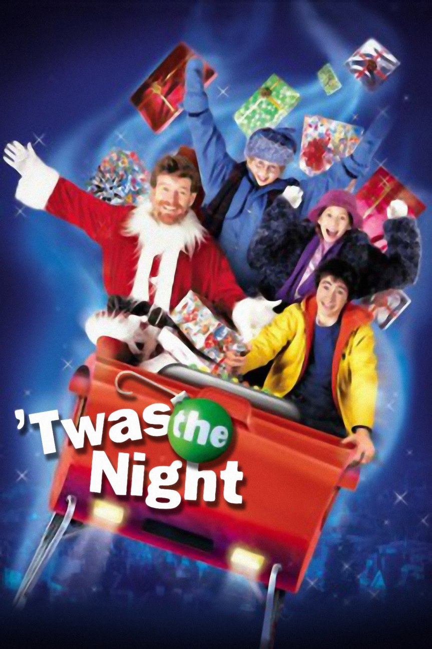 """Poster for the movie """"'Twas the Night"""""""