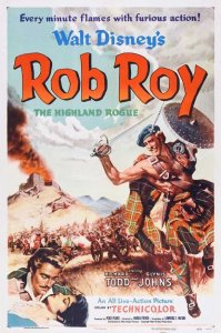 """Poster for the movie """"Rob Roy, The Highland Rogue"""""""