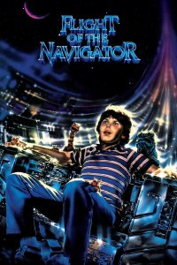 "Poster for the movie ""Flight of the Navigator"""