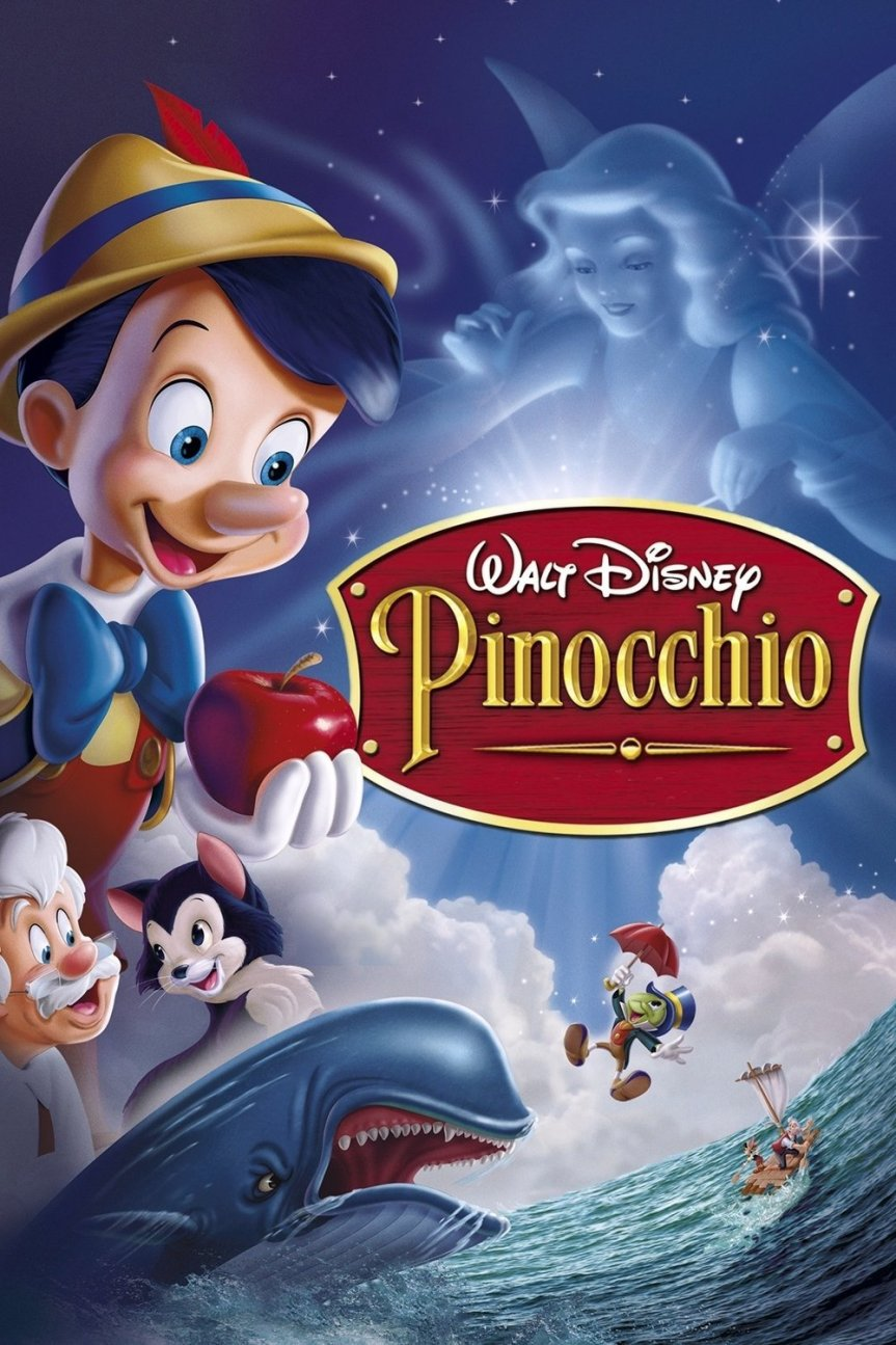 "Poster for the movie ""Pinocchio"""