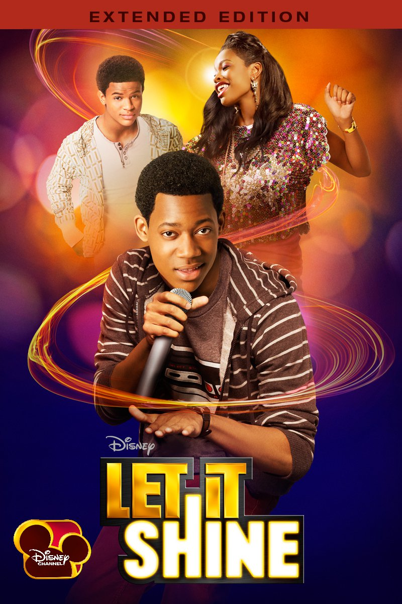 "Poster for the movie ""Let It Shine"""