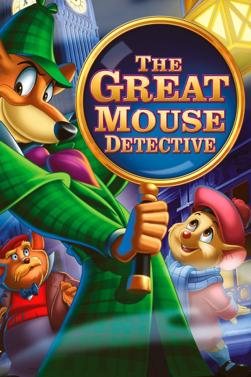 """Poster for the movie """"The Great Mouse Detective"""""""