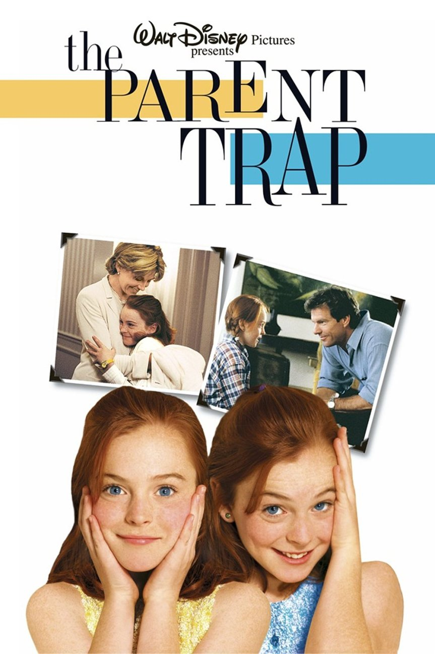 "Poster for the movie ""The Parent Trap"""