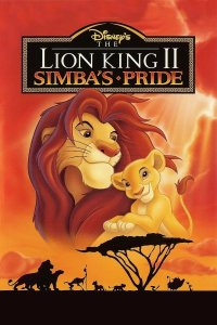 "Poster for the movie ""The Lion King 2: Simba's Pride"""