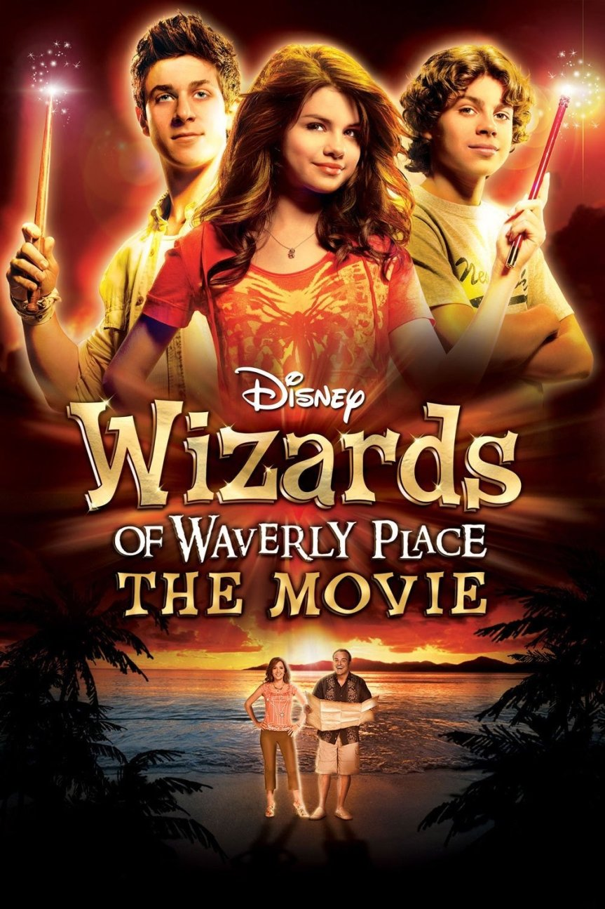 """Poster for the movie """"Wizards of Waverly Place: The Movie"""""""