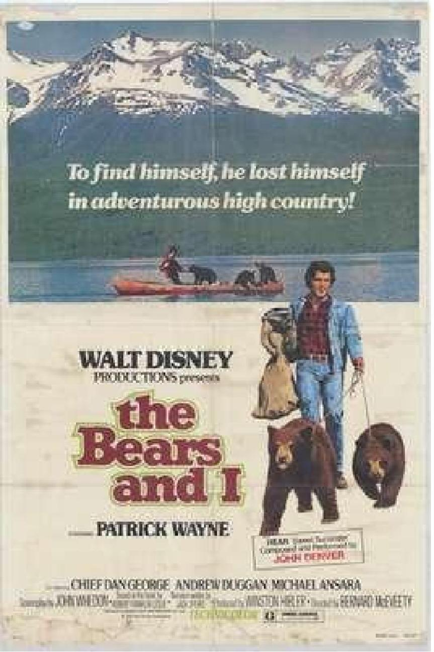 "Poster for the movie ""The Bears and I"""