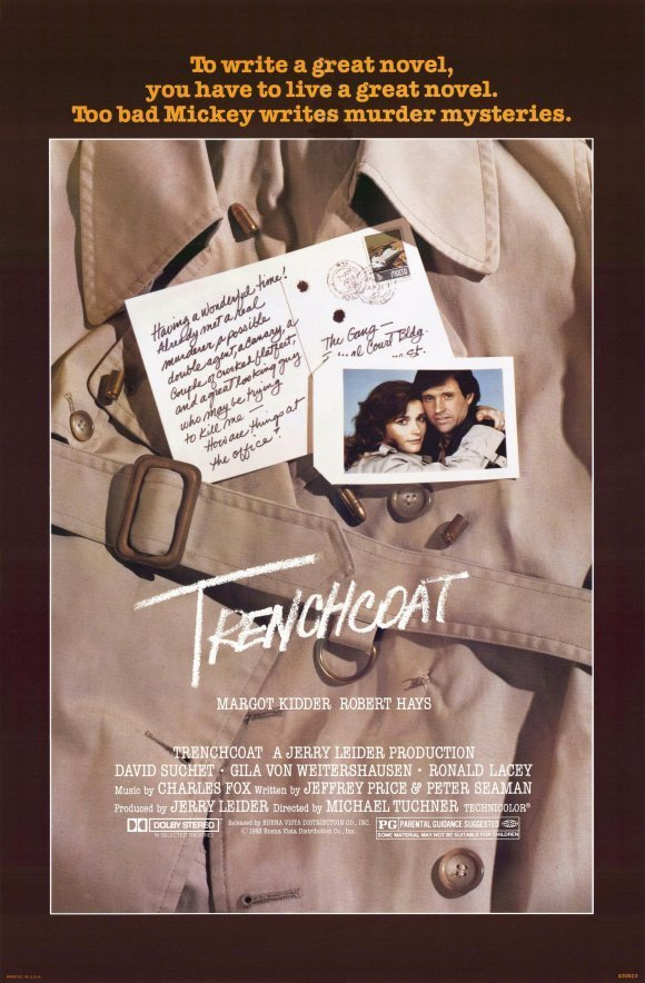 "Poster for the movie ""Trenchcoat"""
