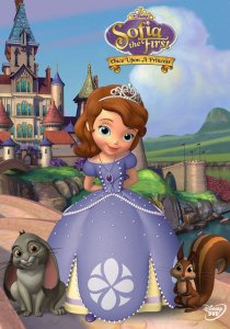 "Poster for the movie ""Sofia the First: Once Upon a Princess"""