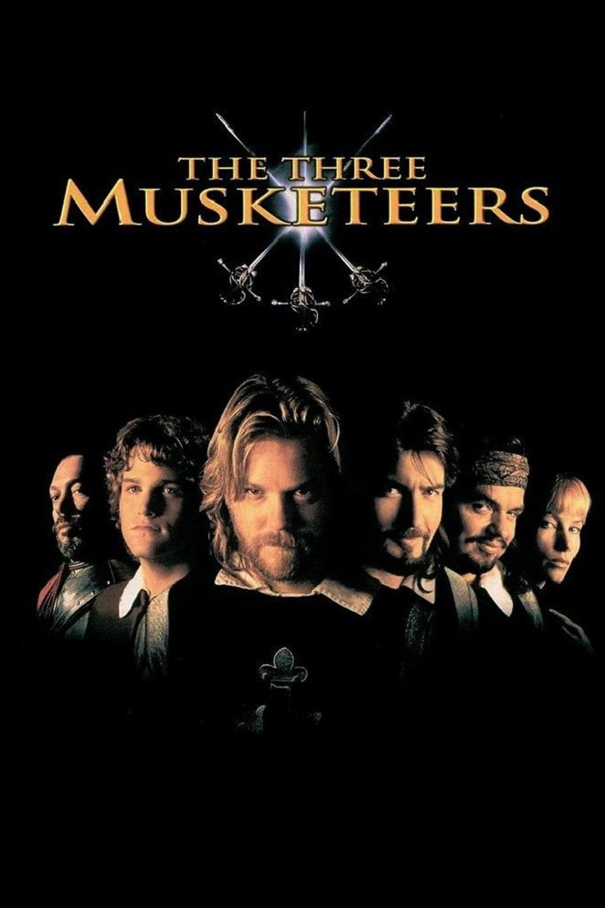 "Poster for the movie ""The Three Musketeers"""