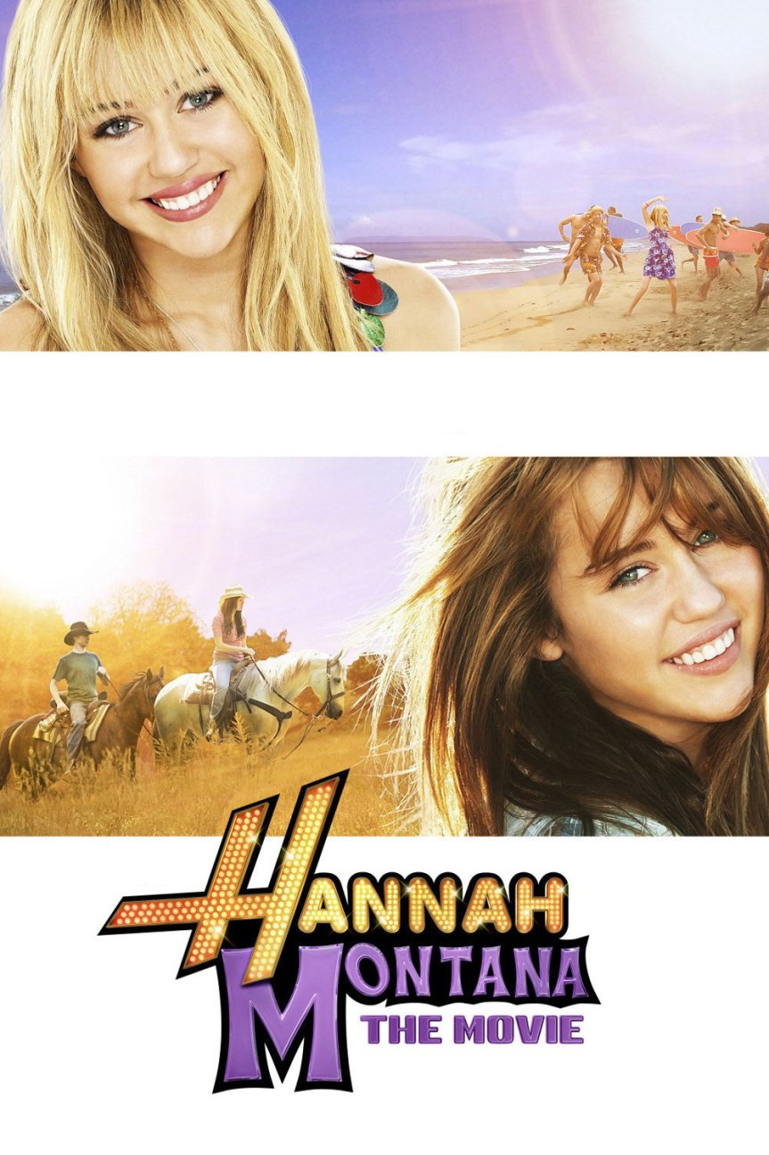 "Poster for the movie ""Hannah Montana: The Movie"""