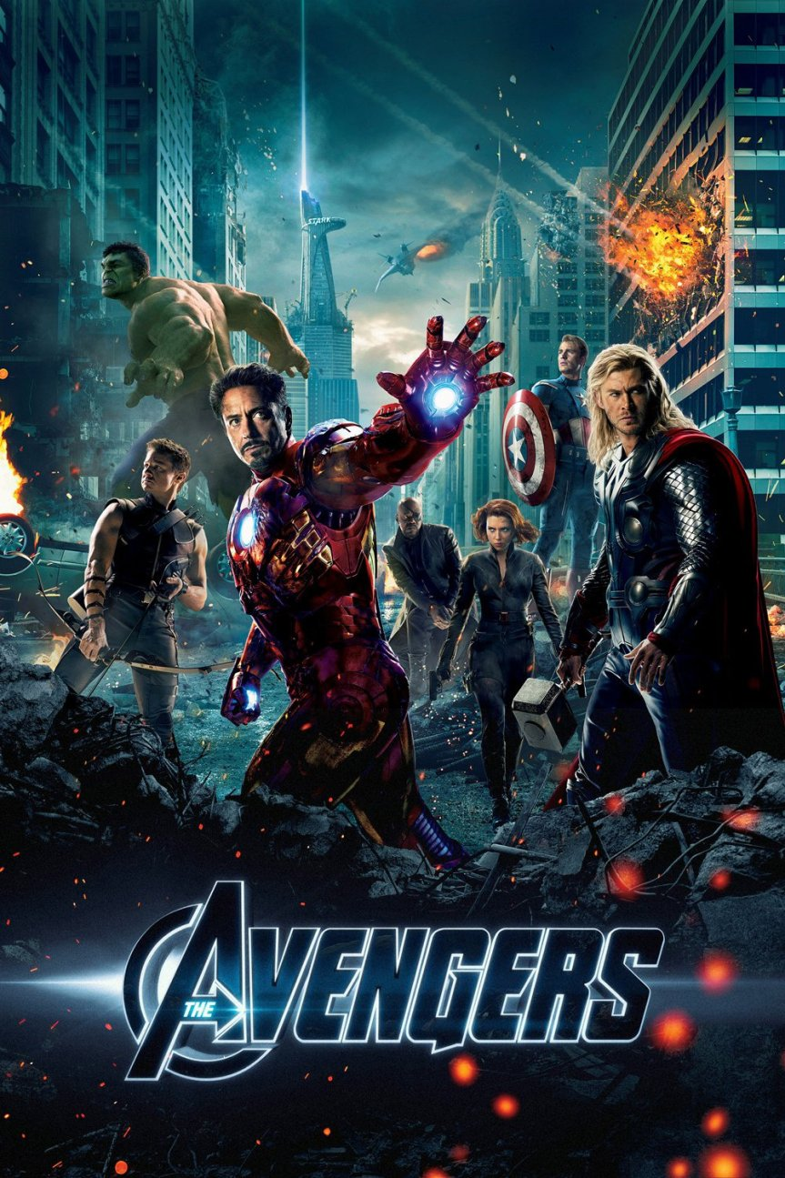 "Poster for the movie ""The Avengers"""