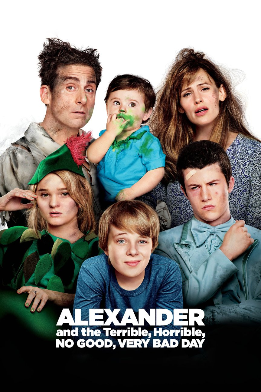 "Poster for the movie ""Alexander and the Terrible, Horrible, No Good, Very Bad Day"""