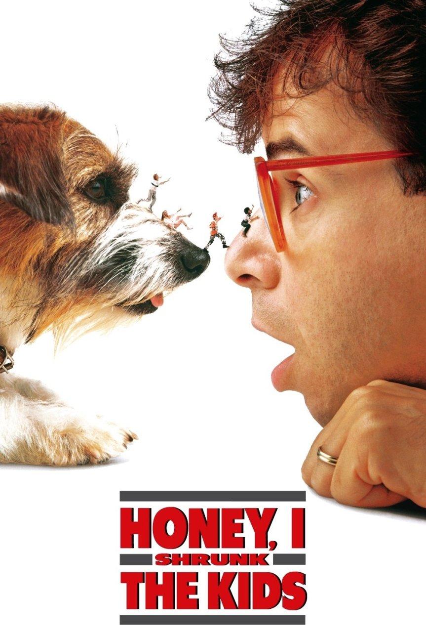 "Poster for the movie ""Honey, I Shrunk the Kids"""