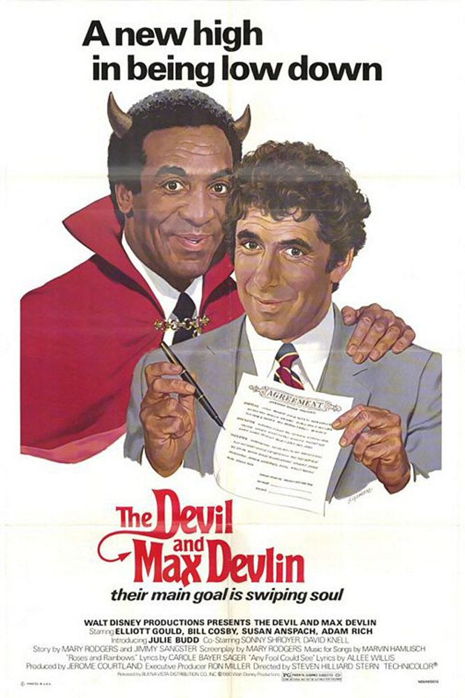 "Poster for the movie ""The Devil and Max Devlin"""