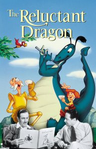 "Poster for the movie ""The Reluctant Dragon"""