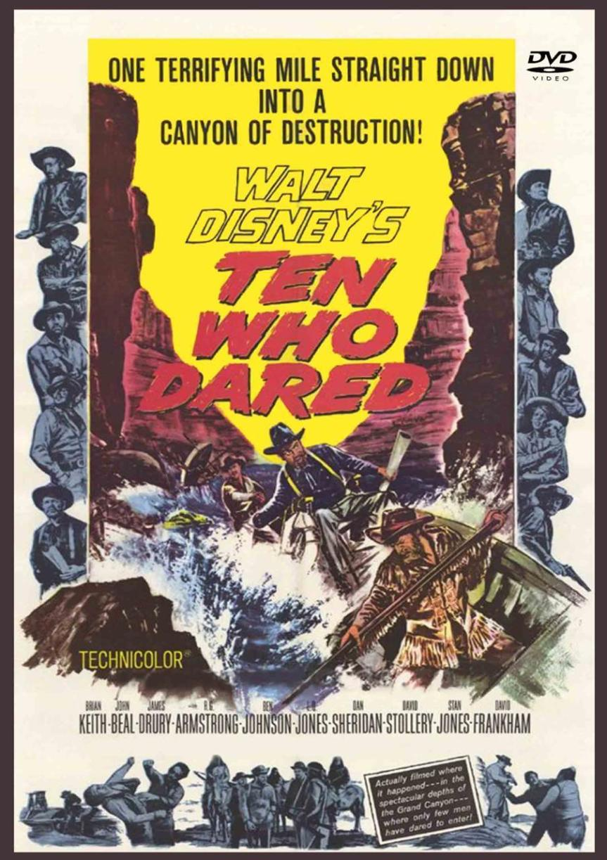 """Poster for the movie """"Ten Who Dared"""""""
