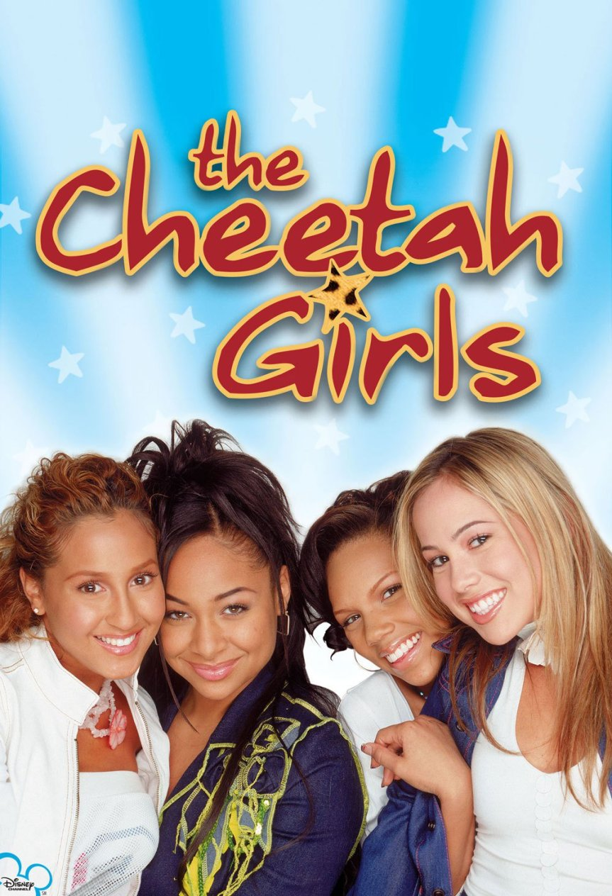 "Poster for the movie ""The Cheetah Girls"""