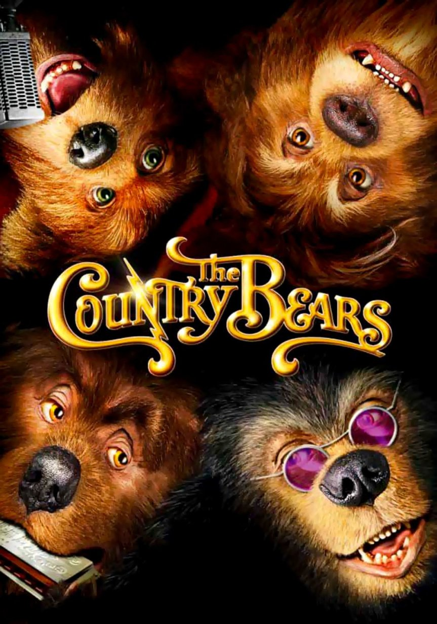 """Poster for the movie """"The Country Bears"""""""