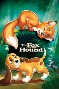 "Poster for the movie ""The Fox and the Hound"""