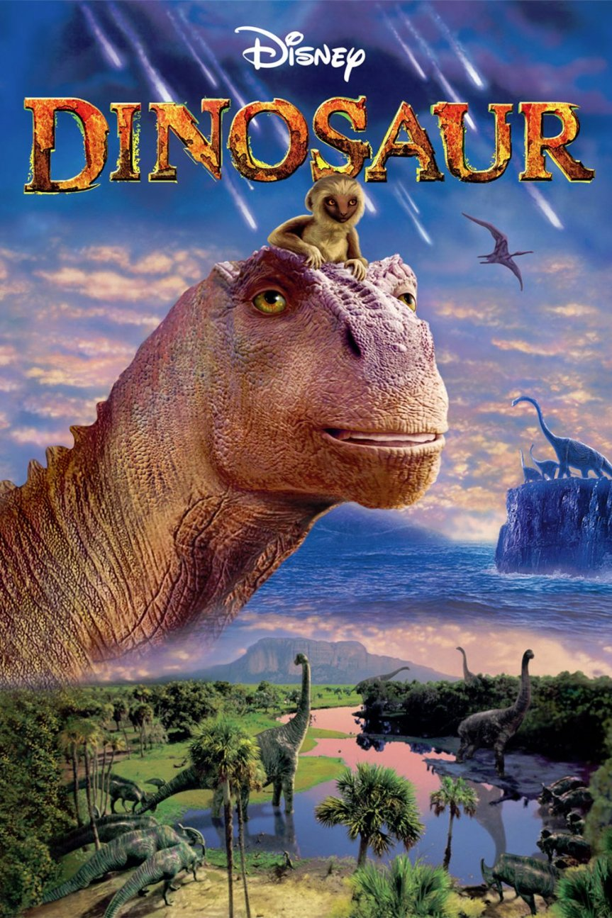 """Poster for the movie """"Dinosaur"""""""