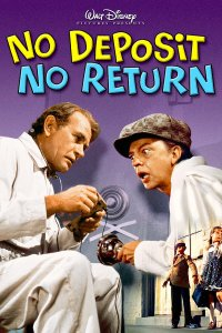 "Poster for the movie ""No Deposit, No Return"""