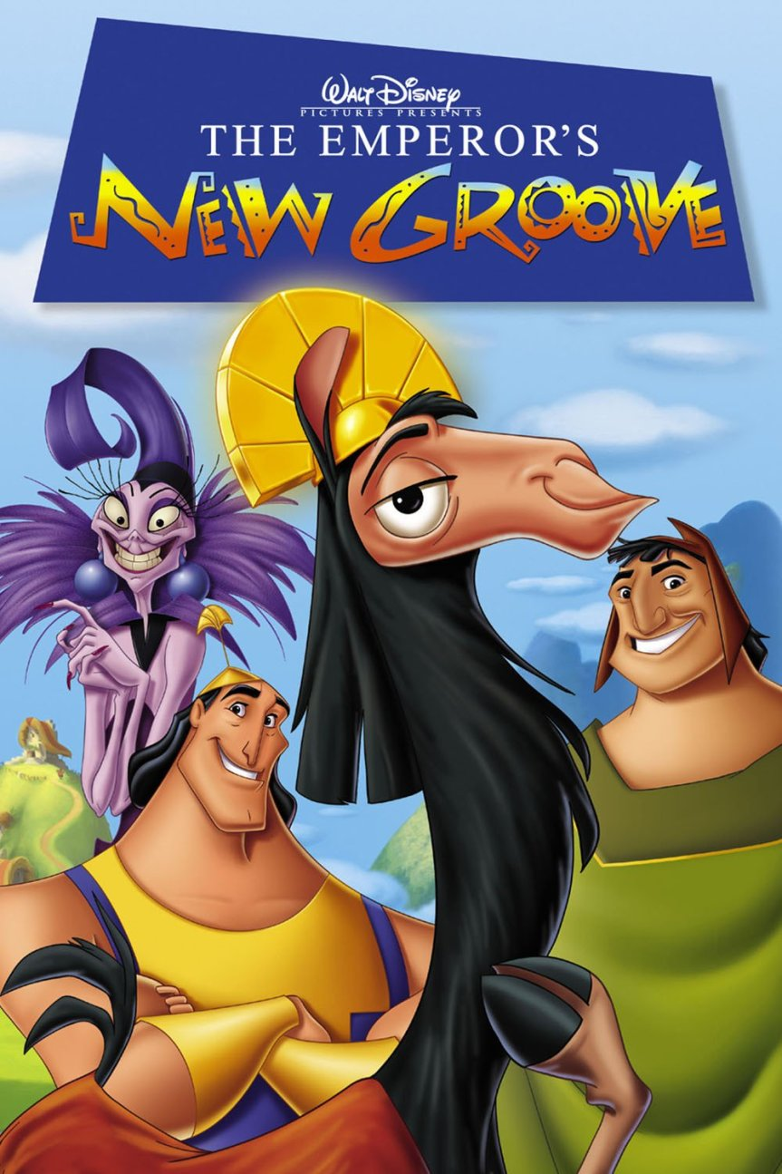 "Poster for the movie ""The Emperor's New Groove"""