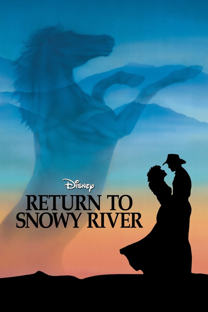 "Poster for the movie ""Return to Snowy River"""