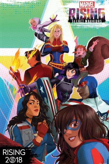 "List of Hero Characters in Marvel Animation's ""Marvel Rising: Secret Warriors"" (2018)"