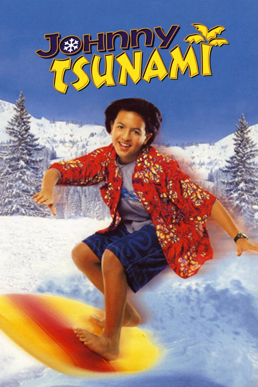 "Poster for the movie ""Johnny Tsunami"""