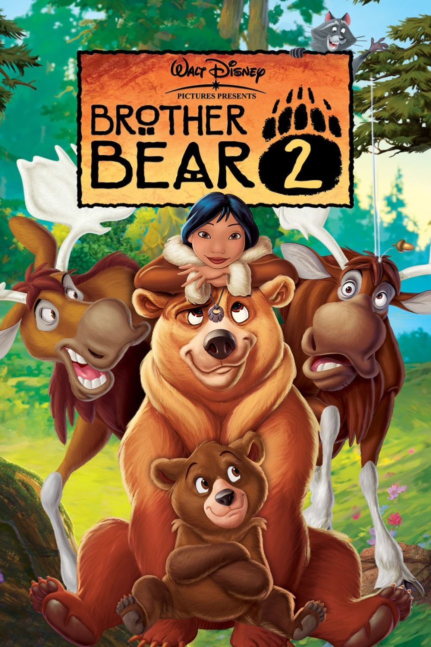 """Poster for the movie """"Brother Bear 2"""""""