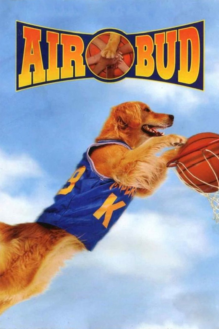 "Poster for the movie ""Air Bud"""