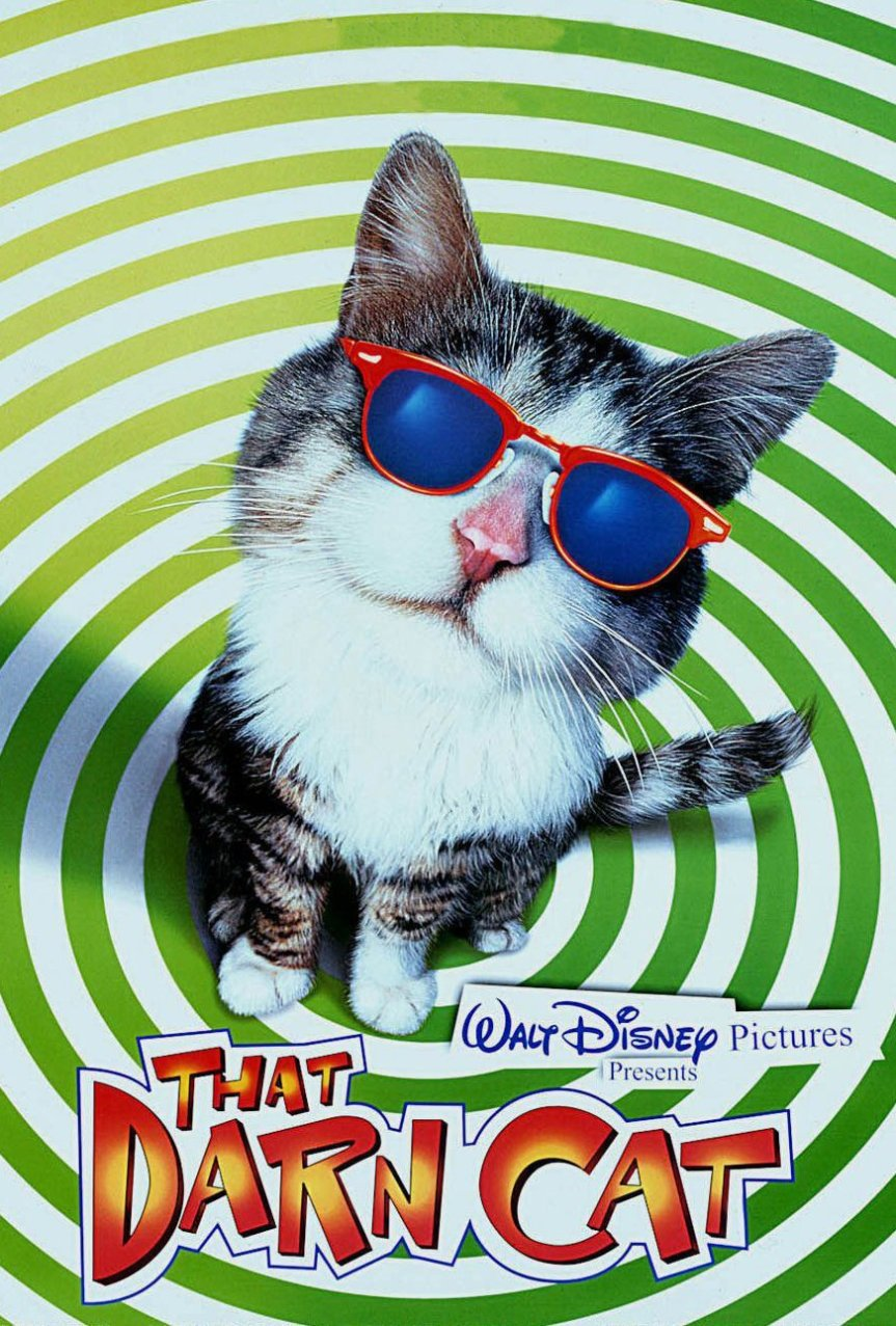 """Poster for the movie """"That Darn Cat"""""""