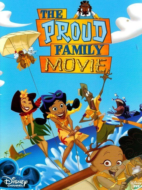 "Poster for the movie ""The Proud Family Movie"""