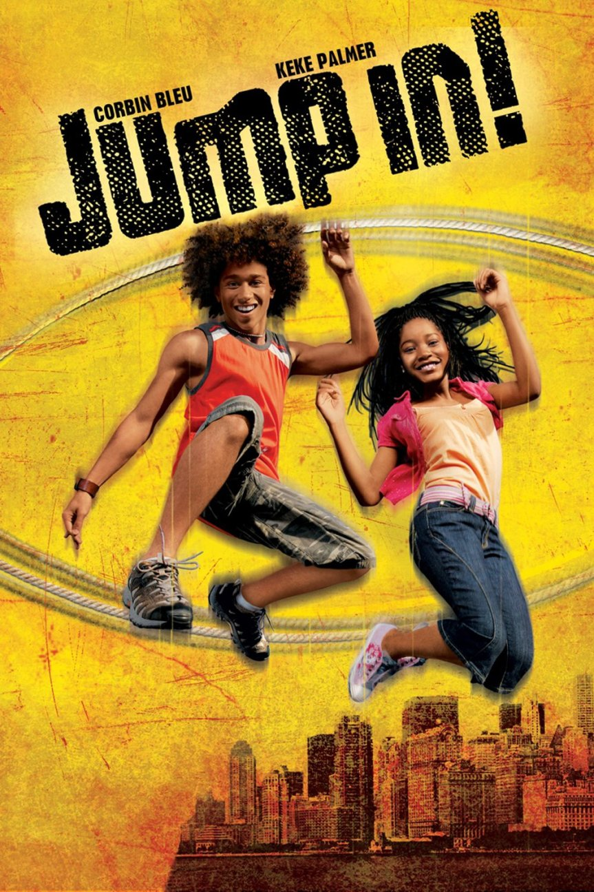 "Poster for the movie ""Jump In!"""