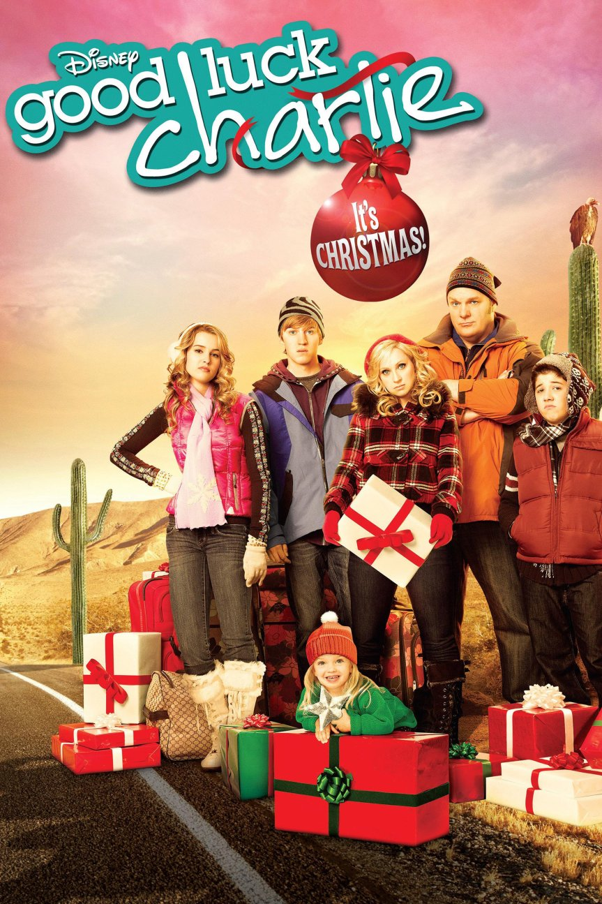 """Poster for the movie """"Good Luck Charlie, It's Christmas!"""""""