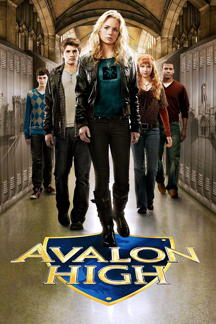 "Poster for the movie ""Avalon High"""