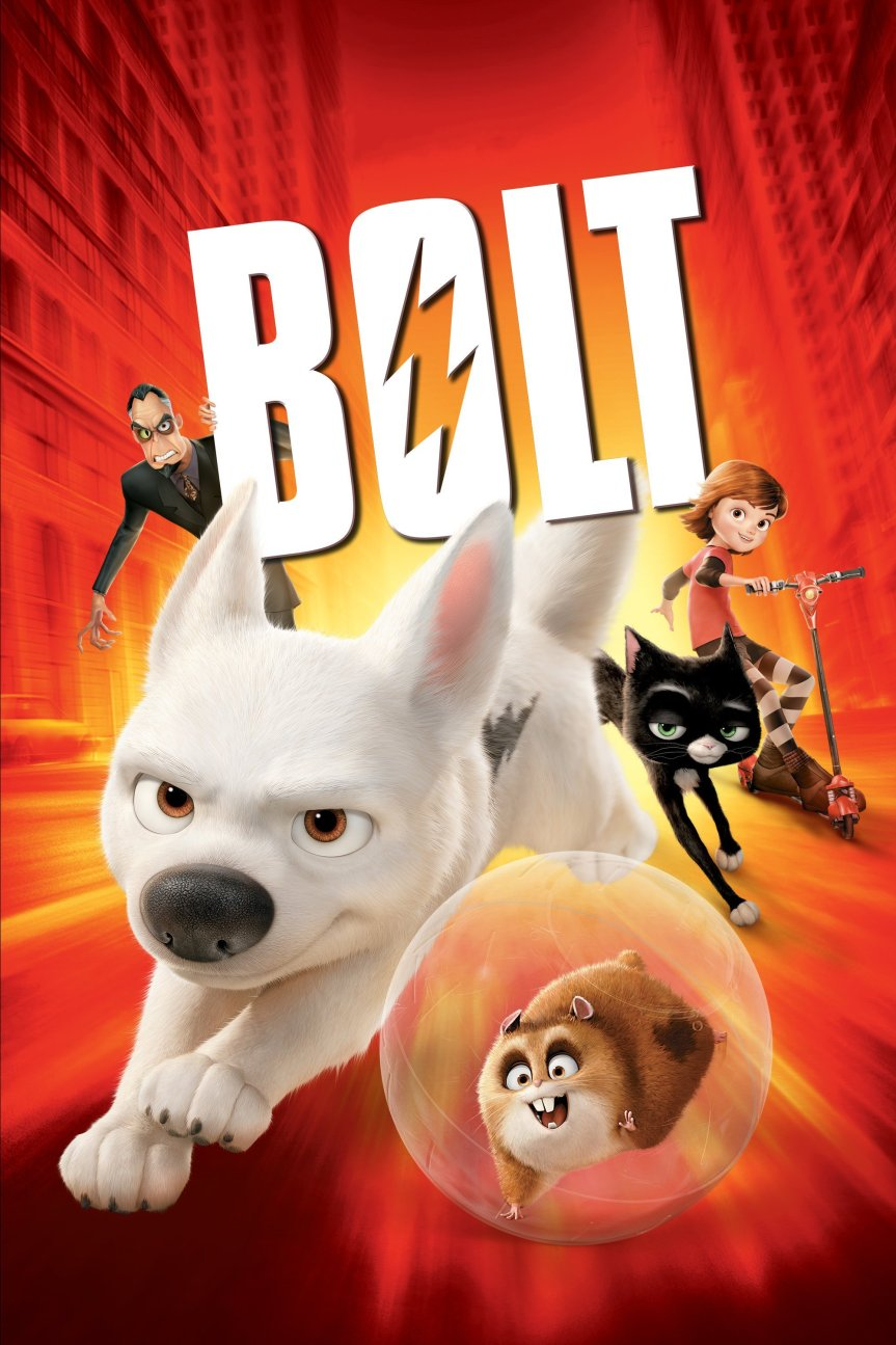 "Poster for the movie ""Bolt"""