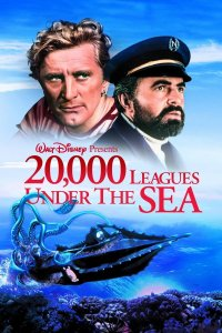 "Poster for the movie ""20,000 Leagues Under the Sea"""