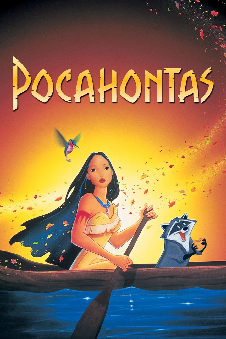 "Poster for the movie ""Pocahontas"""