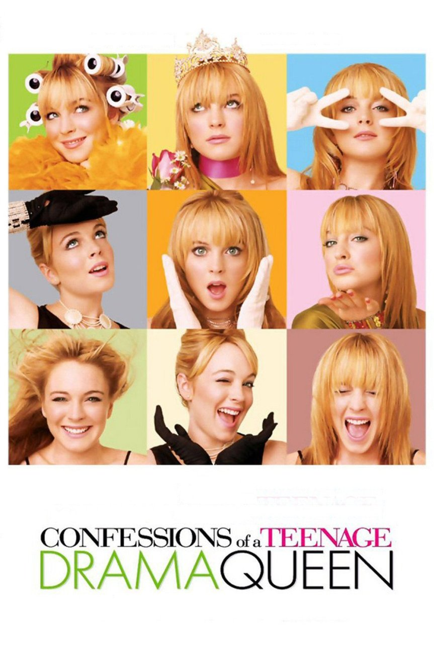 "Poster for the movie ""Confessions of a Teenage Drama Queen"""